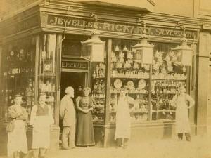 Edmund Rickard's shop