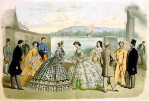 Fashionable Dress 1862