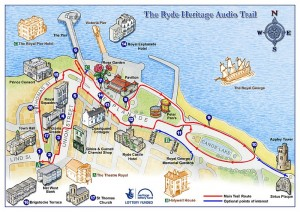 Ryde Heritage Audio Trail Map