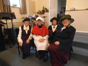 Ryde Characters visit Elim Senior Group