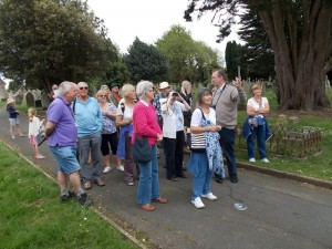 Bird Watchers led By Richard Smout