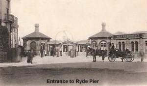 Entrance to Ryde Pier