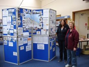 Carol & Kate at Ryde Library