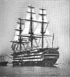 HMS St Vincent