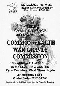 CWGC poster