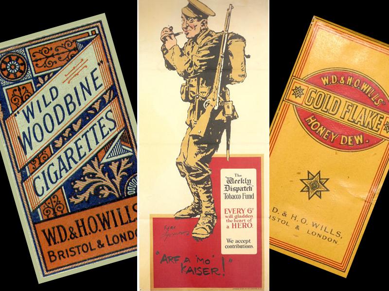 First Word War cigarettes