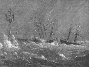Storms at Ryde 1881