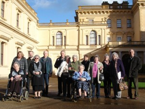 The Group outside Osborne House