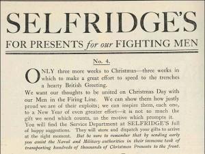 Xmas Advert 1914