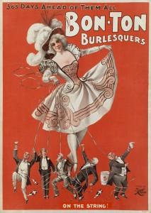 Burlesque-troupe