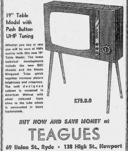 Teagues.Tms.28.11.1968