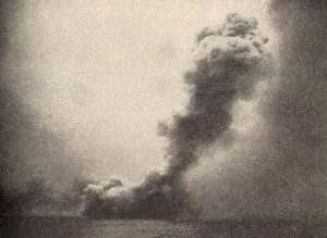 Destruction of HMS Queen Mary at Jutland 1916