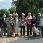 Nature walkers led by Bill Shepard and Sue Blackwell