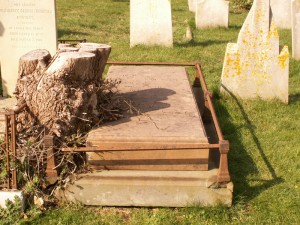 Eliza Bromfield's grave in Ryde Cemetery