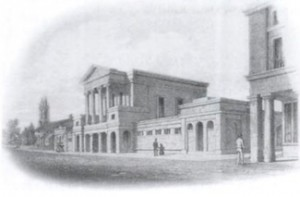 Picture of Ryde Town Hall before the enlargement.
