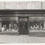 Louis Zink's Hairdresser shop in Union Street