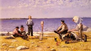 Boys on a Beach