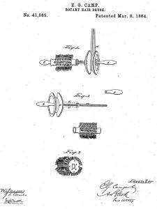 Rotary Hairbrush 1864