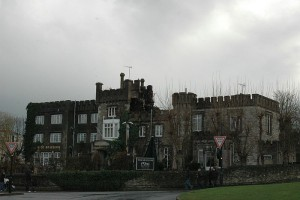 Ryde Castle after the fire