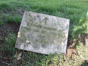 Ethel & Val Paterson grave