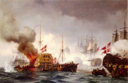 Battle of Copenhagen by Neumann