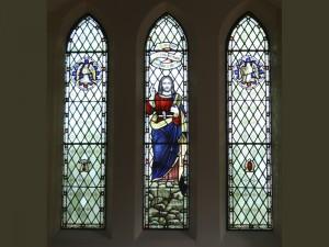 Ryde Cemetery chapel windows