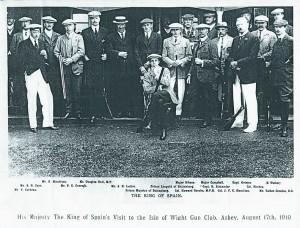 IW Gun Club, Ashey 17 August 1910