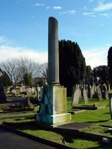 George Harris memorial